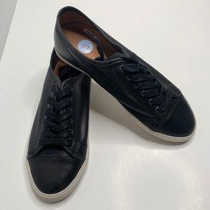 NEW Frye   Mindy Low Black Sneakers size 9